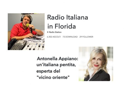 Radio Florida: intervista a Antonella Appiano
