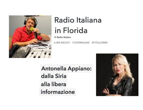 Radio Florida: dalla Siria alla libera informazione – intervista a Antonella Appiano